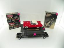 BOX LOT CONTAINING TEXACO COLLECTOR SERIES #5 MODEL TRU