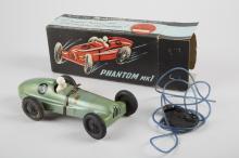 Phantom MK1 Litho. Tin, Rubber & Plastic Toy Ra
