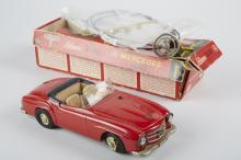 Schuco, Mercedes 190SL - 2095, Litho. Tin Toy