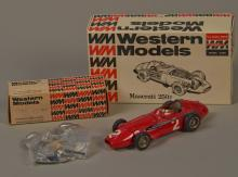 Lot of 2 - Western Models Die-Cast Model Toy Race Cars,