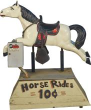 10 Cent Horse Floor Arcade Kiddie Ride