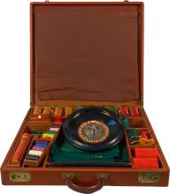 Traveling Misc. Gambling Games In Carrying Case