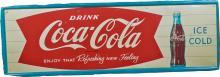 Drink Coca Cola Self-Framed Tin Sign