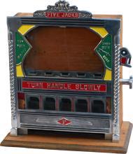 1 Cent Field MFG. Five Jacks Penny Drop Pin Field Trade