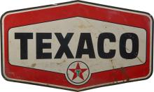 Large TEXACO Double Sided Porcelain Advertisement Sign