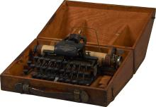 Antique Blickensderfer No. 5 Typewriter In Wood Case
