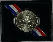 1991D Modern Commemoratives Commemoratives Korean War $1 MS-63
