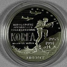 1991P Modern Commemoratives Commemoratives Korean War $1