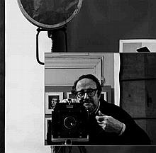 Arnold Newman, Self-portrait, In the margin lower