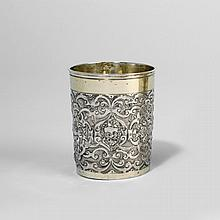 Cup with ornamentation by Marx II Schaller (1621–1