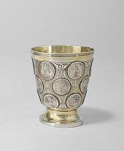 Medallioned cup with 18 medallion by Cornelius Ewa