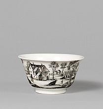 Tea bowl with black