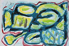 Richard Allen Morris, Untitled, Monogrammed and da