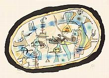 Joan Miró,  La Naissance Du Jour , Signed, Colour