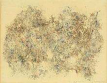 Bernard Schultze, Untitled, Dated, signed and dedi