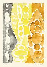 Ernst Wilhelm Nay,  Siebdruck 1966 - 1 (NOR) , Sig