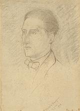 Katherine Sophie Dreier, Portrait Marcel Duchamp,
