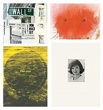 Portfolio, J.F.K.-Mappe, Each signed, 9 sheets dat