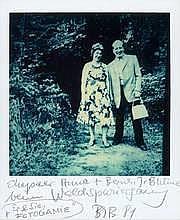 Anna und Bernhard Blume Bork bzw. Dortmund 1937