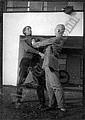 Walter Heinz Allner Dessau 1909 ARIEH SHARON UND GEORG HARTMANN. Um 1927