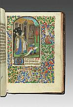Book of Hours after the Use of Rouen. Manuscript with 13 illuminations