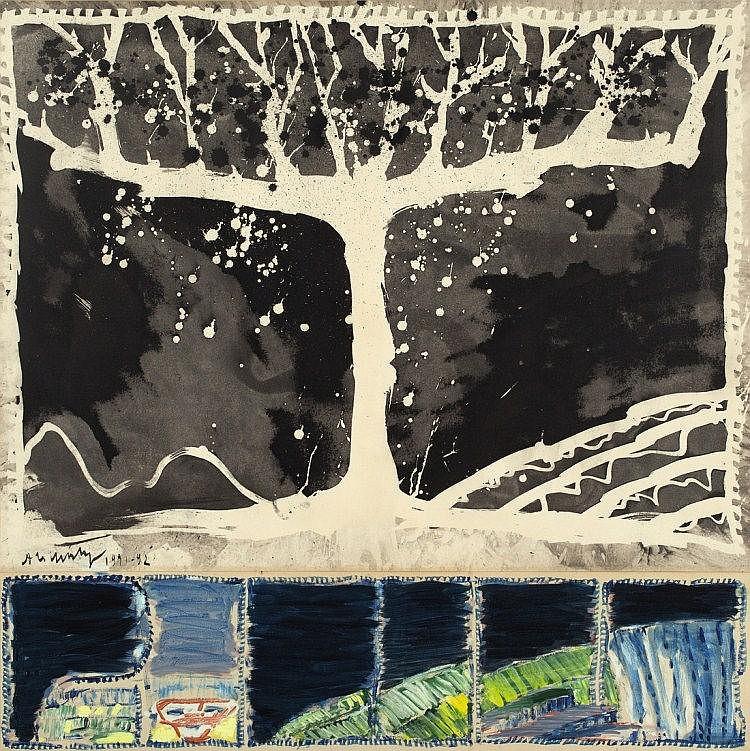 """Alechinsky, Pierre 1927 """"A Bras Ouverts"""