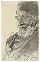 Adolph von Menzel JUSTUS KRAUSKOPF Chalk and