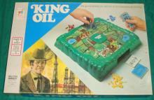 1974 Milton Bradley King Oil Game
