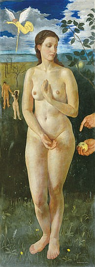 Czene Béla (1911-1999) - Eve, 1940