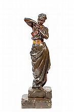Emmanuel Villanis (1858-1914) A partly cold paint