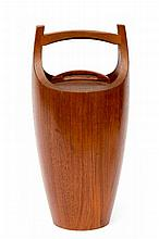 Jens Quistgaard (1919-2008) A teak ice bucket,wit