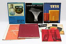 Glas, Eight books on glass.,