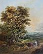 Johannes Bonket (1802-1893) Herder met zijn vee in