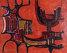 Rutgerus Johannes de Gier (1921-2004) Abstracte co