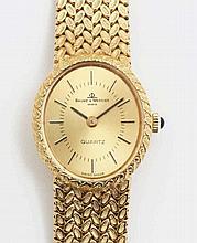 Baume & Mercier golden watch.