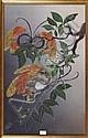 Twee batikschilderijen, Wien Yogya.