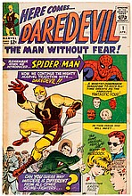 Daredevil Origin: Marvel Silver Age Comic Book Collection