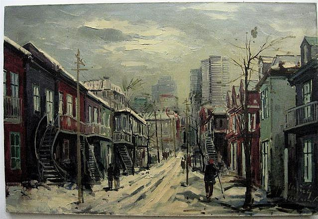 GORDON (GEZA) MARICH (1913-1975) CANADIAN
