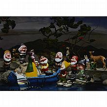 DIANA THORNEYCROFT, GROUP OF SEVEN AWKWARD MOMENTS (WHITE PINE AND THE GROUP OF DWARFS), chromogenic print, 20.5 ins x 29.75 ins; 52.1 cms x 75.6 cms
