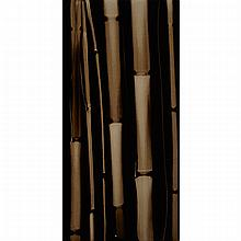 ATTILA RICHARD LUKACS, BAMBOO SERIES, mixed media on canvas, 48 ins x 24 ins; 121.9 cms x 61 cms