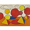 Alexander Calder (1898-1976), THE PEAK OF PROGRESS, CIRCA 1970, Colour lithograph on Arches paper; signed and numbered 86/100 in pencil to the image, Sheet 20.25