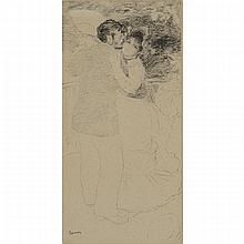 Pierre-Auguste Renoir (1841-1919), DANCE AT CHATOU, 1883, Lithograph; signed in the plate lower left, Sheet 9