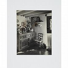 Andre Kertesz (1894-1985), KITCHEN INTERIOR, A RESIDENCE, 1949, Gelatin silver print; with photographer's studio stamp verso;