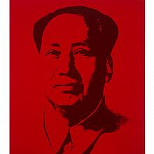 After Andy Warhol (1928-1987), MAO SUITE (SUITE OF 5), Five colour silkscreens, each with stamps