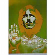 Richard Avedon (1923-2004), THE BEATLES (THE SET OF FOUR PSYCHEDELIC POSTERS), 1968, Four photographic posters. Printed by Waterlow & Sons Ltd., England. Limited first edition and coright by NEMS Enterprises Ltd. Unframed., Sheets 26.7