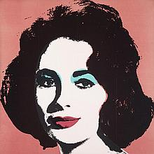Andy Warhol (1928-1987), LIZ TAYLOR, 1965 (THE MAILED AND POSTMARKED INVITATION TO THE MORRIS INTERNATIONAL EXHIBITION, TORONTO,