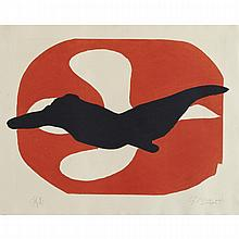 Georges Braque (1882-1963), L'ORDRE DES OISEAUX, PL. 7, 1962 [VALLIER, 182], Colour etching and aquatint; signed and numbered H.C. in pencil to margin, Plate 13.6