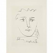Pablo Picasso (1881-1943), POUR ROBY (FROM L'AGE DE SOLEIL BY ROBERT J. GADET), 1950 [BLOCH 680], Etching on BFK Rives paper; signed and titled in the plate. Unframed., Sheet 13