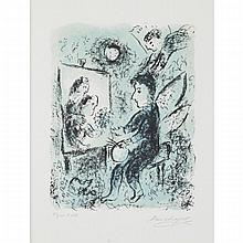 Marc Chagall (1887-1985), VERS L'AUTRE CLARTE (TOWARDS ANOTHER LIGHT) , 1985 [MOURLOT 1050], Colour lithograph; stamped signature, numbered