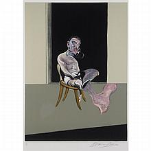 Francis Bacon (1909-1992), TRIPTYCH AUGUST (RIGHT PANEL), 1972, [TACOU,24], Colour lithograph; signed and numbered 58/180 in pencil to margin, titled to gallery label verso, Image 25.5